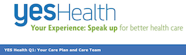 Header image of the YES Health October survey